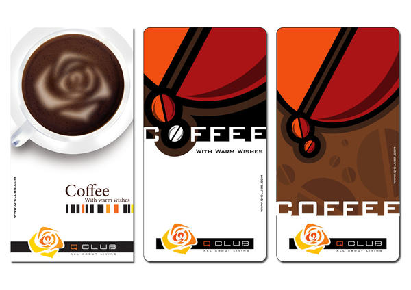 q club coffee label by nicy2002