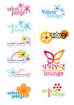 velvet lounge logos