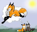 StupidFox: Imagination