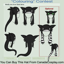 Long tailed Monster Hat