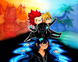 KH: Falling Star by owopyre