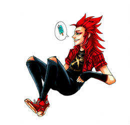 KH: Hot Topic by owopyre
