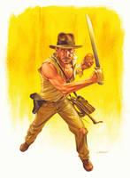 Indiana Jones by jasonedmiston
