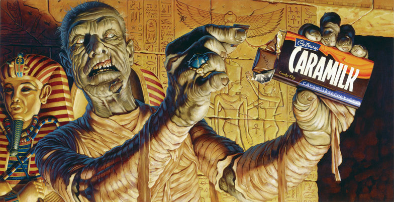 Caramilk Mummy by jasonedmiston