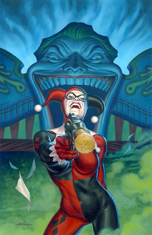 Harley Quinn at the Carnival by jasonedmiston