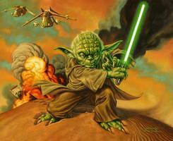 Yoda Sandstorm by jasonedmiston