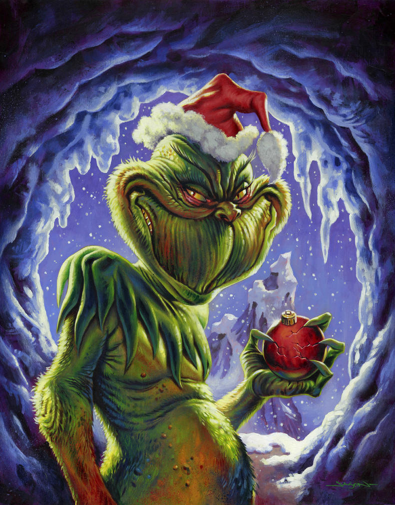 The Grinch Who Stole Christmas by jasonedmiston on DeviantArt