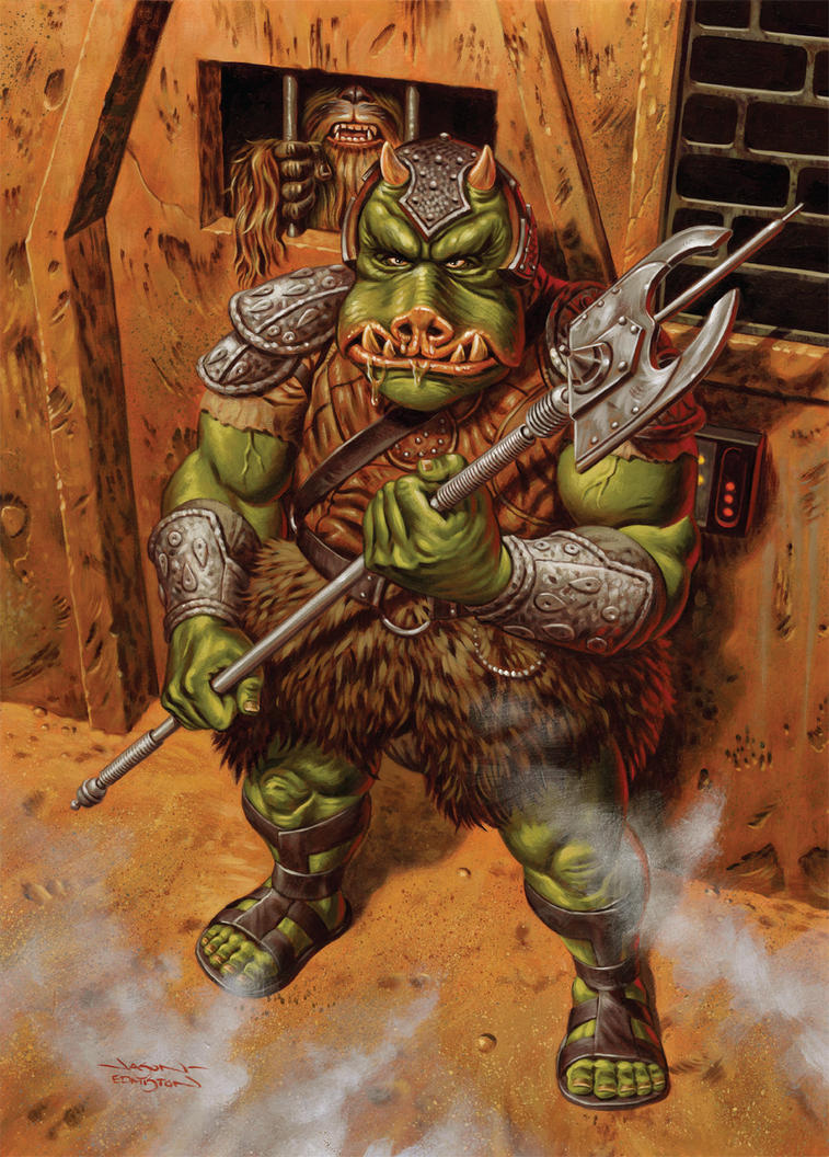 Gamorrean Guard by jasonedmiston