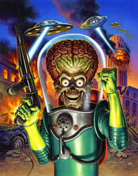Mars Attacks by jasonedmiston