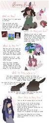 Bouquet Bunnies Info Sheet by MOO-NICORN