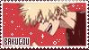 bakugou - stamp by moo-nicorn