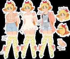 BEST GIRL - Maybelle (dainty ref) by moo-nicorn