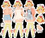 BEST GIRL - Maybelle (dainty ref)