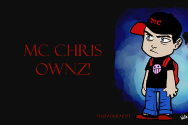 MC Chris Widescreen Wallpaper by Th33w0kRap15t