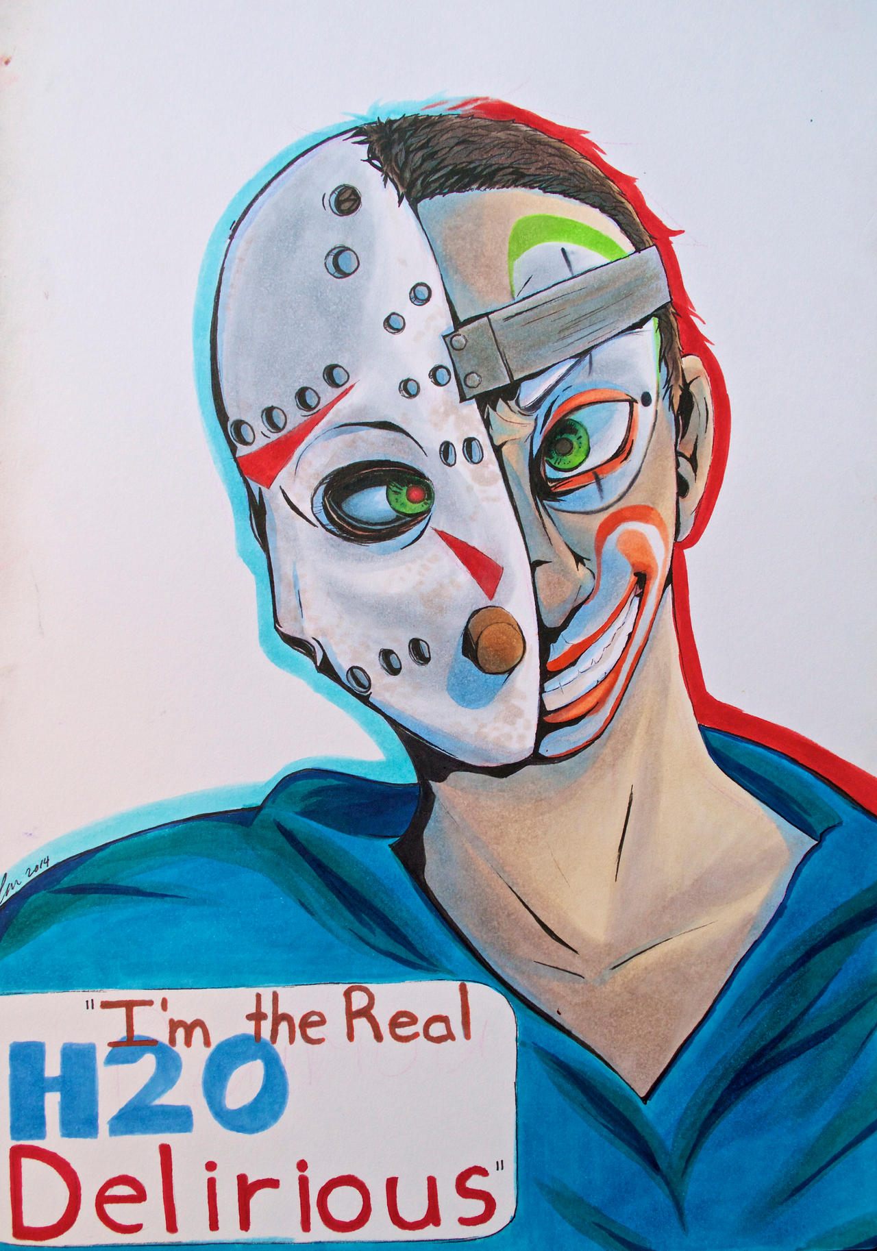 I'm the real H20 Delirious! by Noah-Jay on DeviantArt H20 Delirious Fan Art