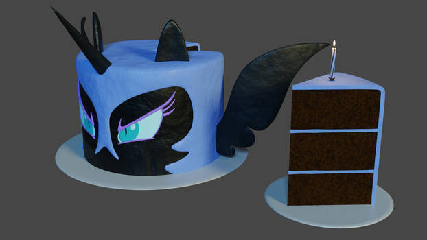 The Cake Shall Last Forever!