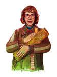 illustration // log lady // twin peaks