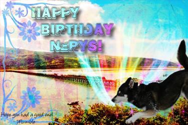 Happy Birthday Nerys by sammala