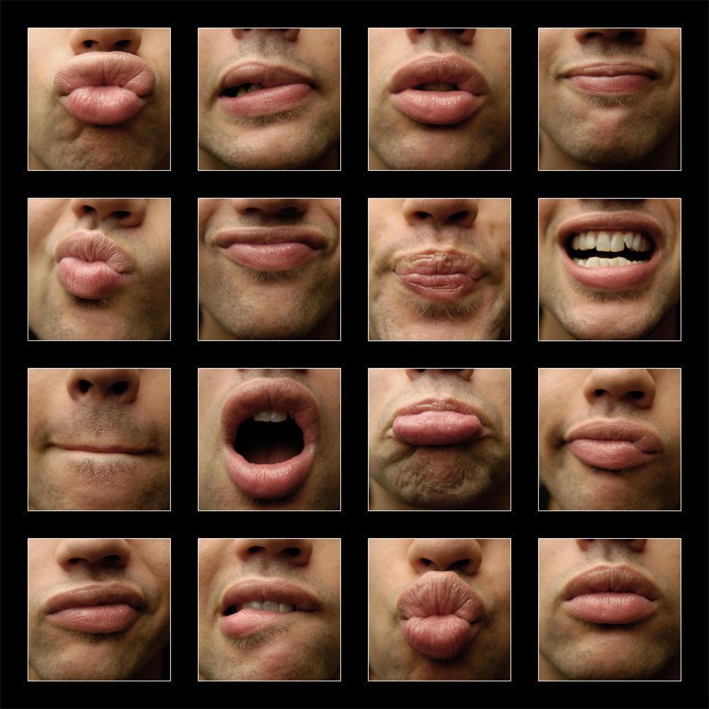 Мимика губ что это