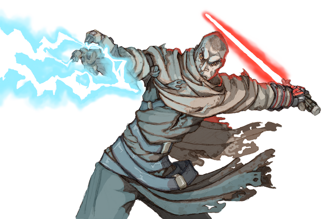 Starkiller on Raxus Prime: Coloured by moptop4000