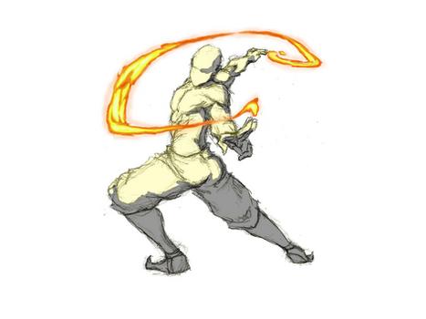 Firebending Whip