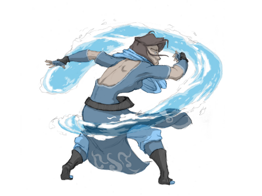 Commission: Waterbender No2 by moptop4000