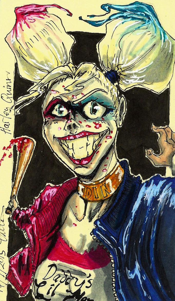 Harley Quinn by moptop4000