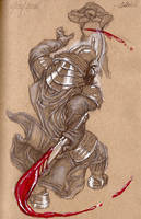 Samurai Darth Vader by moptop4000