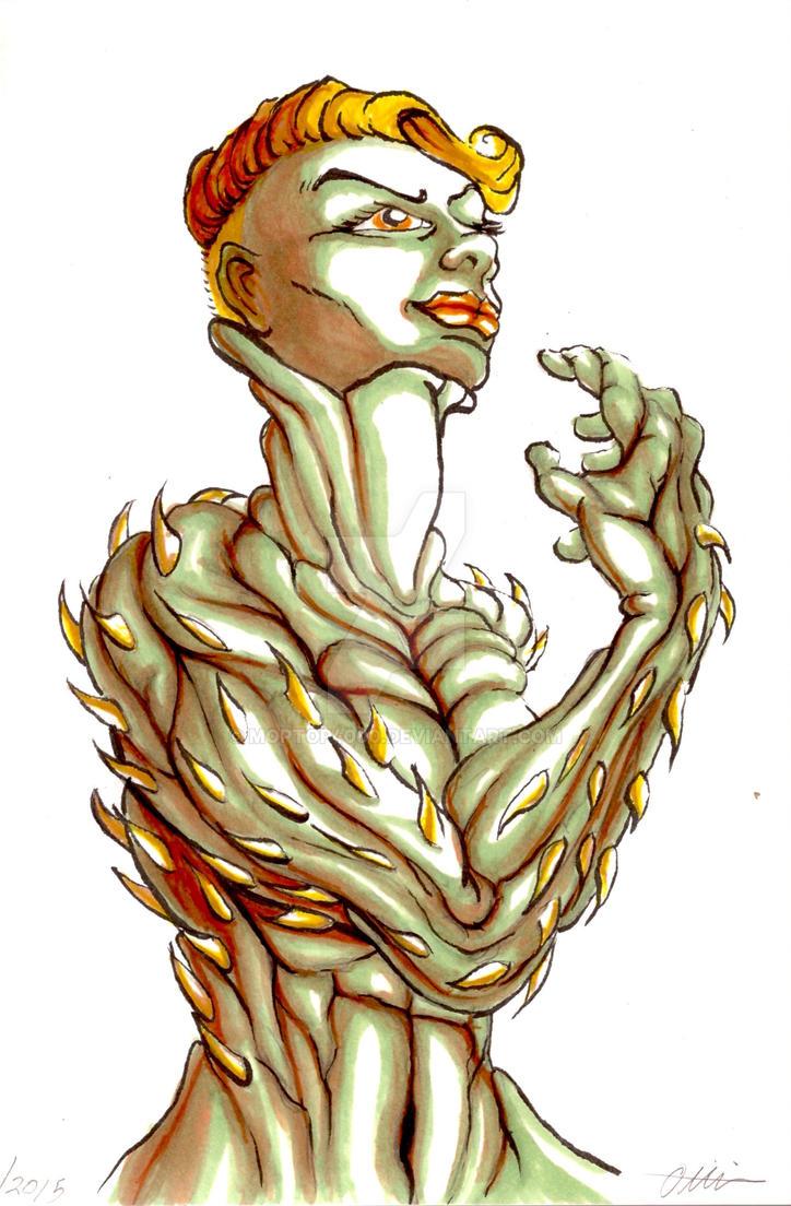 Seizure Art: Mascot by moptop4000