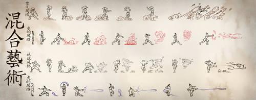 Mixed Arts Bending Scroll by moptop4000