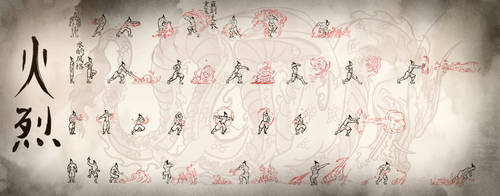Firebending Scroll by moptop4000
