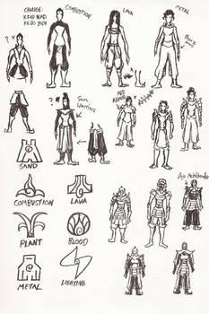 Bending Scrolls Character Design Part 2/2
