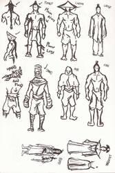 Bending Scrolls Character Design Part 1/2