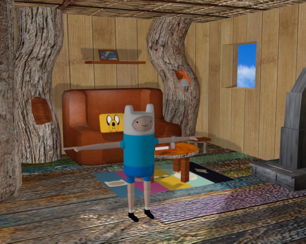 Adventure Time Tree House Hora De Aventuras By Zornoza On