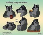 Wolfmage Telegram Stickers