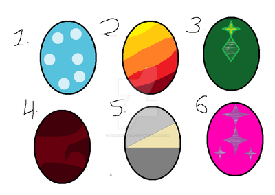 0/6 CLOSED Egg Batch #1 by ParagonPalace