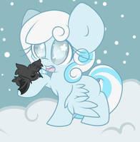 Snowdrop and Coco by StarlightLore