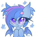 Little bat, reporting for hugs!