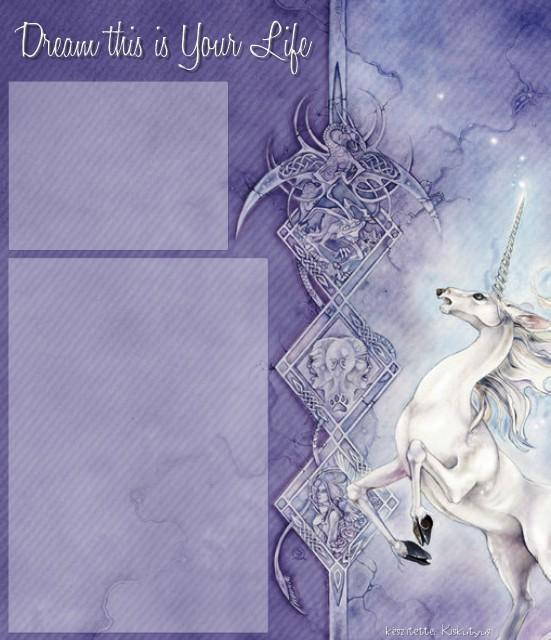 Unicorn Layouut by Kiskutyus
