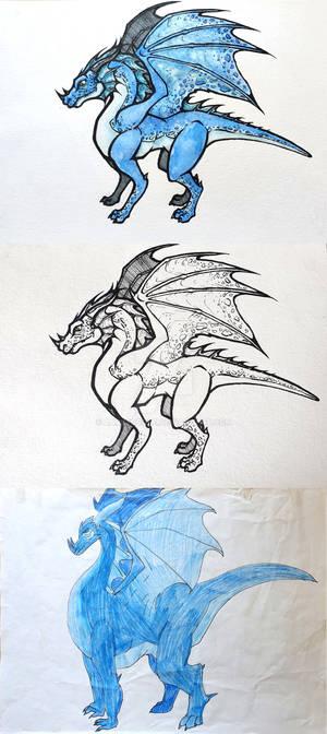 Redraw: My Very First Dragon