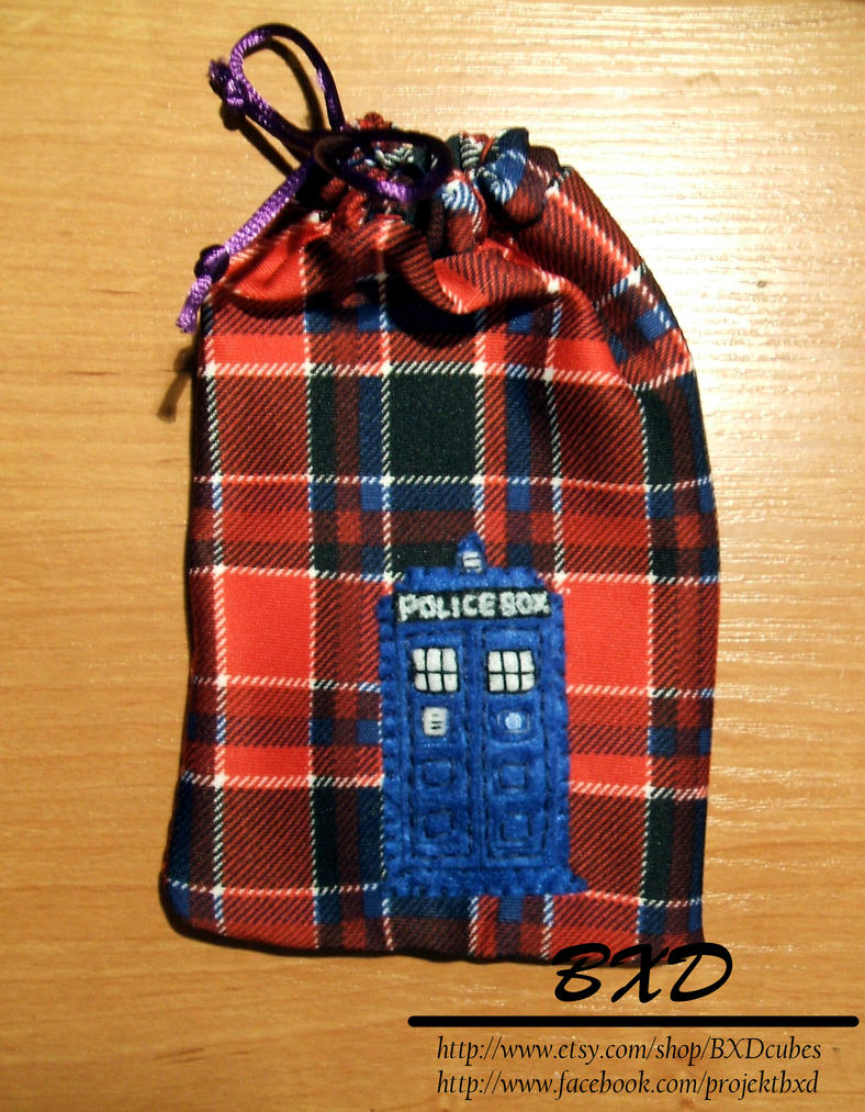 Doctor Who phone case/pouch by nezstorm