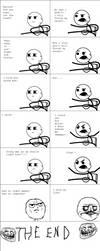 Rage Comic:Angry Cereal Kid by NikeMan223