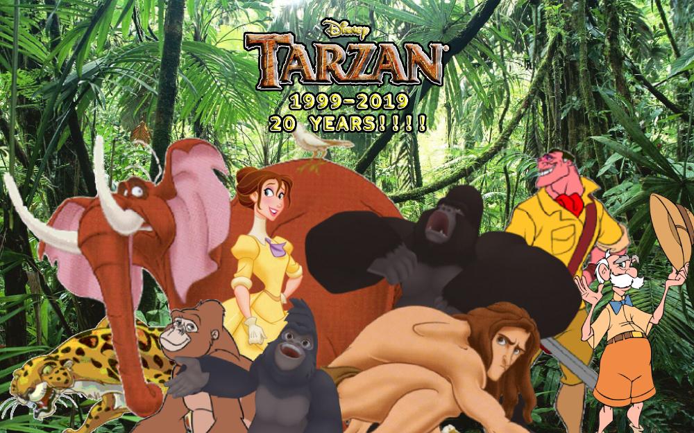 Tarzan 1999 2019 By Michaelryanmoss On Deviantart