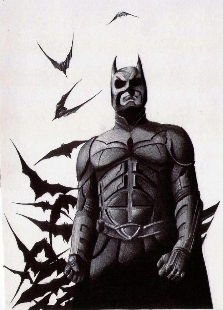 Batman by pauloraphael