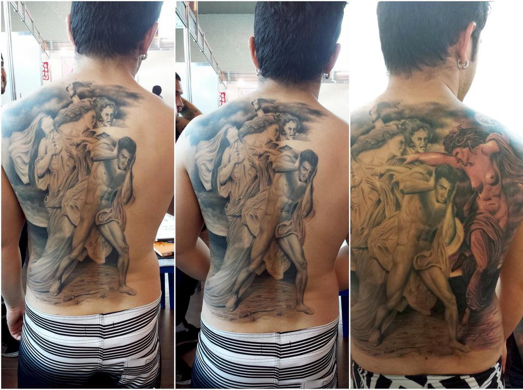Realistic Tattoo by pauloraphael