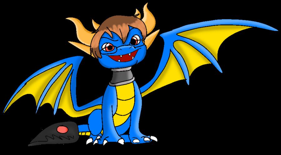Josh the dragon by Gadgetgirlsteph1234