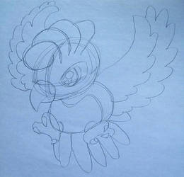 chibi ho-oh by Gadgetgirlsteph1234