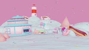 Scrapped Dessert themed world