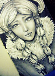 Princess Yue by O-cha-ra