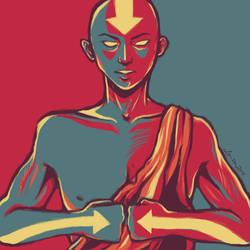 Aang. by O-cha-ra